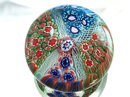 MURANO M Design Art Handcraft Rainbow Mix Millefiori Art ...