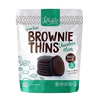 Brownie Thins - Grain Free, Paleo (Chocolate Mint, 3 Pack)