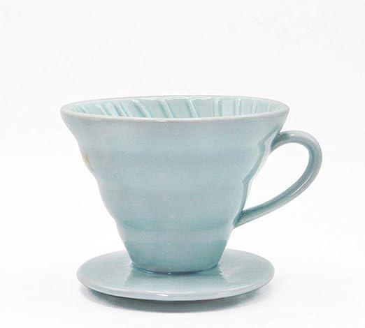 1 filtro de cerámica para cafetera Hario estilo café filtro Cup ...