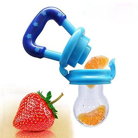 Amazon.com: Comedero de malla para bebé, chupete de fruta ...