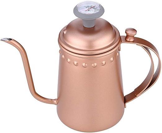 Cafetera Hervidor de agua Caldera con el café extraíble ponche de reloj de arena Tipo Verter