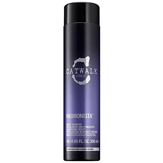 violet shampoo for platinum blondes