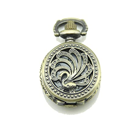 Maybesky Vintage Fashion Classic Hollow Pocket Watch ...