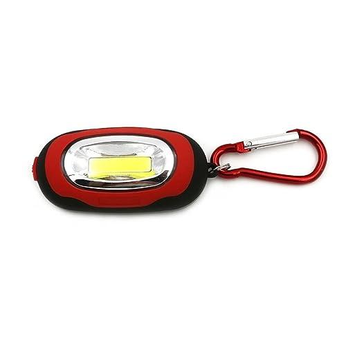 zolimx Portable Mini Super COB luz LED Linterna Llavero 3 ...