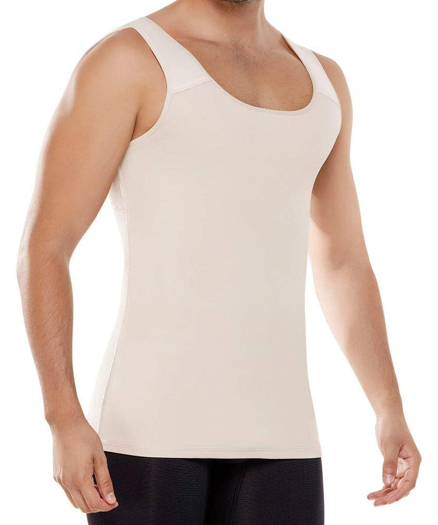 Fajate Men's Reductoras Colombianas Thermal Shirt Para Hombre Large Nude by Fajate