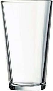 16 OZ Drinking Glasses Set of 12 Beer Glasses Pack Water Glasses Cup Sets Pint Glasses Tumblers Elegant Design for Home and Kitchen – Lead and BPA Free, Great for Restaurants, Bars, Parties