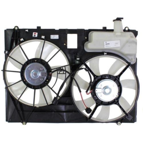 MAPM Premium SIENNA VAN 06-10 RADIATOR FAN SHROUD ASSEMBLY, 3.5L Eng., Dual Type