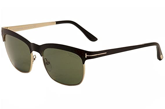 9dce4a9094e Image Unavailable. Image not available for. Color  Tom Ford Sunglasses TF  437 Elena 05R Black ...