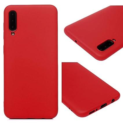 Amazon.com: Auchso - Carcasa para Samsung A50 (silicona y ...
