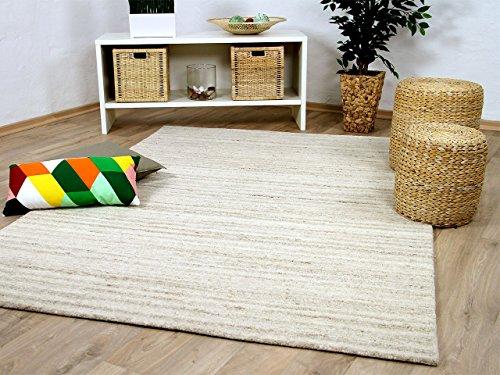 Natur Teppich Berber Aruna Beige Melange in 7 Größen