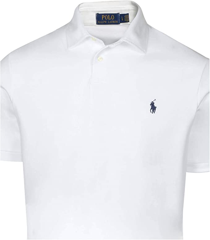 Polo Ralph Lauren hombres de media Fit Polo de enclavamiento shirt ...