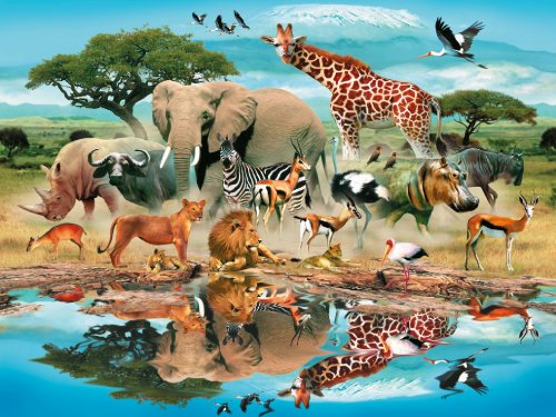 Ravensburger Watering Hole - 300 Piece Puzzle