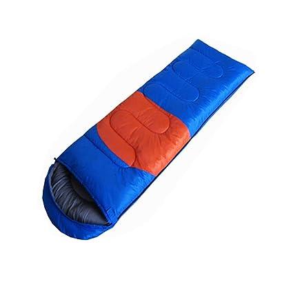 Saco de dormir LCSHAN Poliéster Cuatro Estaciones Adulto Acampar al Aire Libre, Interior, multifunción