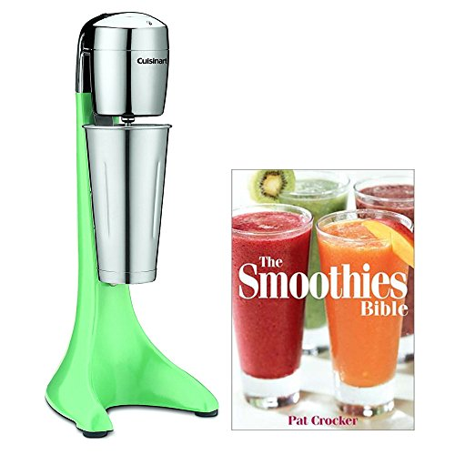 Cuisinart CDM-100G Classic Drink Mixer, Mint with Smoothie Recipe Book by Cuisinart