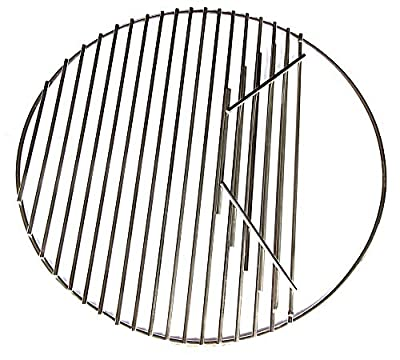 Hongso Cooking Grid Grate Replacement,Stainless Steel SUS304,Round Grid for Large Big Green Egg, Char-Griller,Kamado Joe,Vision Grill VGKSS-CC2, B-11N1A1-Y2A Gas Grill, 18 1/2 Inch Diameter (BGE18)