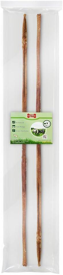 Free Range Beef Pizzle Dog Treat GigaBite 30-36 Inch Odor-Free Bully Sticks USDA /& FDA Certified All Natural