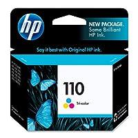 HP 110 Tri-color Original Ink Cartridge (CB304AN) by Hewlett Packard