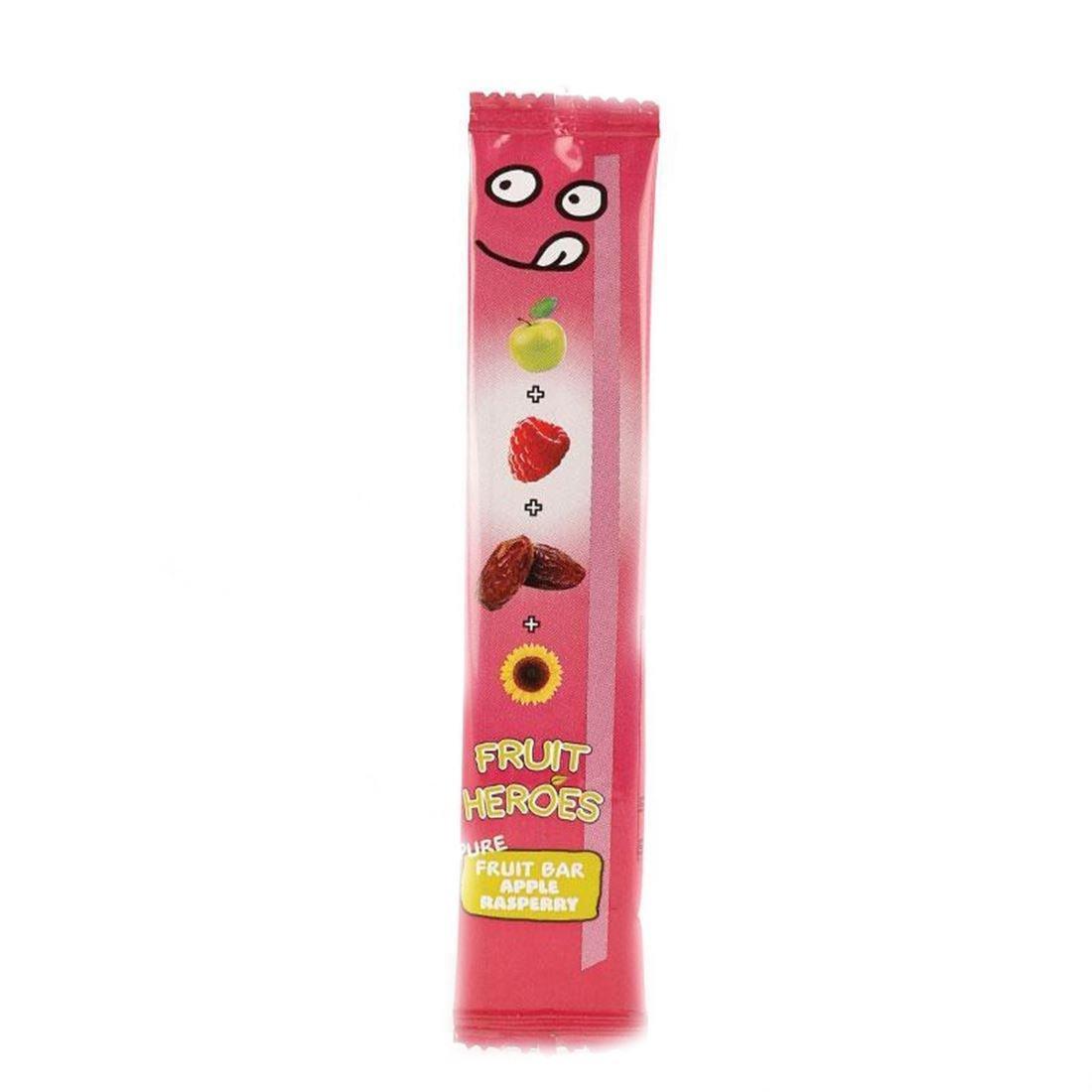 Fruit Heroes | Apple Raspberry Fruit Bar | 10 x 20g