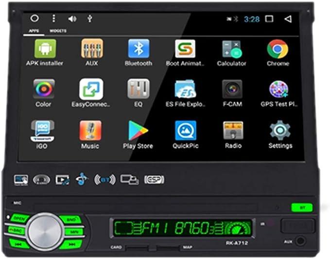 Podofo Android 1 Din Autoradio Auto Einziehbares Elektronik