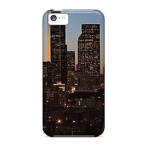 Iphone 5c Rush Hour Print High Quality Tpu Gel Frame Case Cover