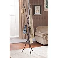 Kings Brand Bronze Finish Metal Tree Branches Coat & Hat Rack Stand