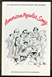 img - for American Popular Song book / textbook / text book