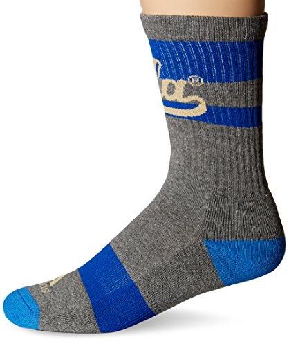 NCAA UCLA Bruins Men's Crew Socks, Size 9-11, Grey - Ucla Socks Men