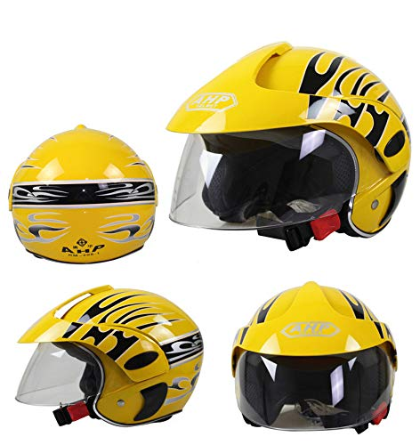 NACOLA Kids Helmet with Shield,Boys Girls Cute Cow Pattern Cycling Bicycle Helmet,Fit 2-9 Years by NACOLA (Image #1)