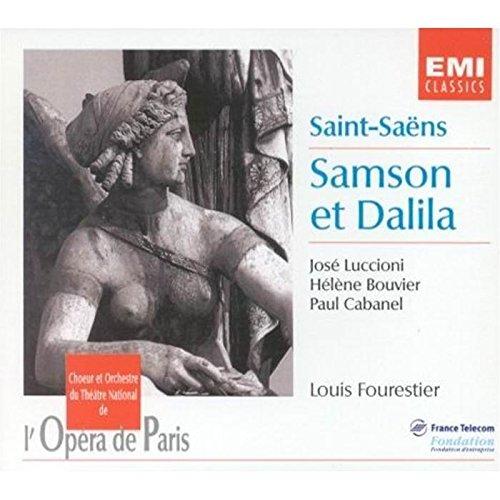 (Saint-Saens Samson Et Dalila. (Jose Luccioni Helene Bouvier Paul Cabanel Et Al. Paris Opera)