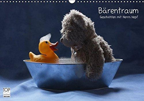 Bärentraum (Wandkalender 2017 DIN A3 quer): Geschichten mit Herrn Nopf (Monatskalender, 14 Seiten) (CALVENDO Spass)