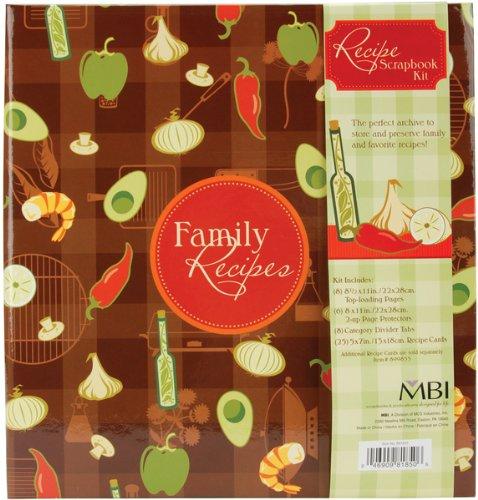Scrapbook Recipe Cards - 3-Ring Scrapbook Kit-5
