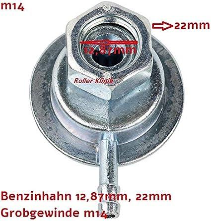 Benzinhahn Unterdruck Für 2 Und 4 Takt China Roller Retro Znen Zn50qt M14 12 87mm 22mm Auto