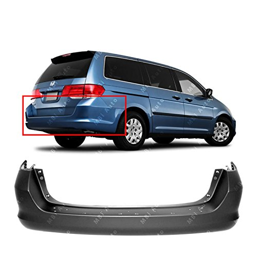MBI AUTO – Primered, Rear Bumper Cover Replacement for 2005-2010 Honda Odyssey Minivan 05-10, HO1100220