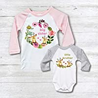 ffa4d45f3 Big Sister Little Brother Shirts Onesie New Big Sister Matching Baby Shower  Gift