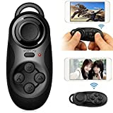 1PC Universal BT Wireless Remote Control Game Joystick Gamepad Console Selfie Shutter for 3D VR Glasses IOS/Android Smartphone