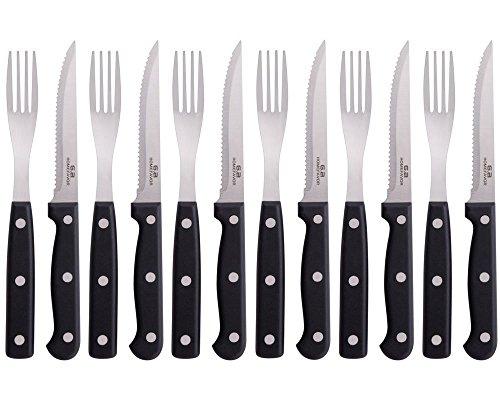 Steak Knives And Forks - 8