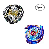 WenJie [2 Pack] Beyblade Burst - Personally Assemble to Improve Your Child's Manual Ability - Stamina Type - 2 X Combat Combination ( 2 Beyblade + 2 Launcher ) - b73+b106