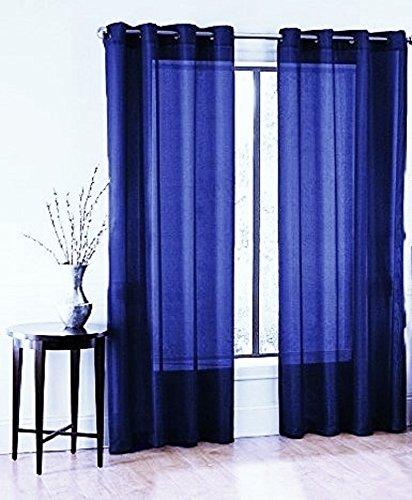 window curtain sizes gorgeoushomelinendifferent sizes ruby pc royal blue sheer window curtains drape voile panels soild bronze amazoncom