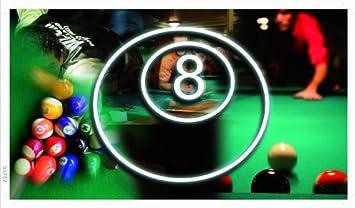 Plano de publicidad - ba752 - bola de billar sala de billar 8 - 90 ...