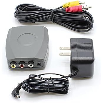 RCA / Composite A/V to RF / Coax / Coaxial Converter - RF Modulator