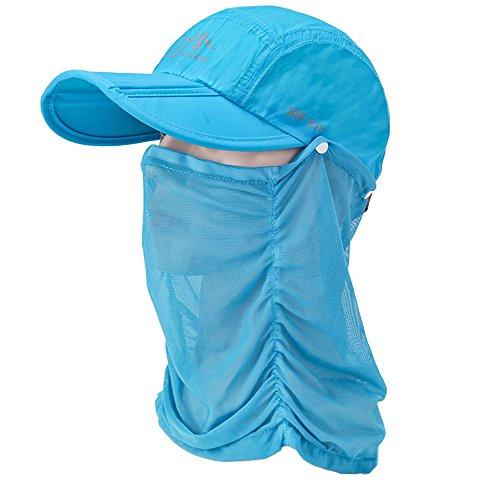 Fintier 男女兼用 折り畳み 日よけキャップ 360度UVカット紫外線対策 通気性 吸湿速乾 メッシュペール付き メッシュ帽子 自転車 釣り 登山 アウトドア スポーツ メッシュキャップ 帽子 メンズ レディース