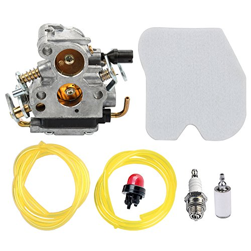 Panari 545072601 Carburetor + Tune Up Kit Air Filter for Husqvarna 235 235E 236 236E 240 240E Chainsaw Jonsered CS2234 CS2238 CS2234S CS2238S