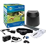 PetSafe Stay & Play Compact Wireless Fence for Dogs & Cats, Waterproof & Rechargeable, Above Ground Electric Fence…