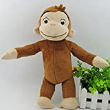 "Curious George 12"" Anime Animal Stuffed Plush Toys Monkey"