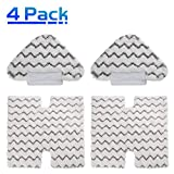 X Home 4 Pack Shark Steam Mop Microfiber Replacement Cleaning Pads for Shark