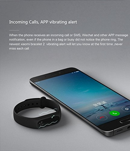 Xiaomi Mi Band 2 Smartwatch OLED Heart Rate Monitor Touchpad