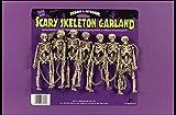 """Long 72"""" Skeleton Garland Hanging Decoration Prop"""
