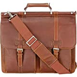 Wilsons Leather Mens Vacqueta Double-Gusset Leather Brief Cognac