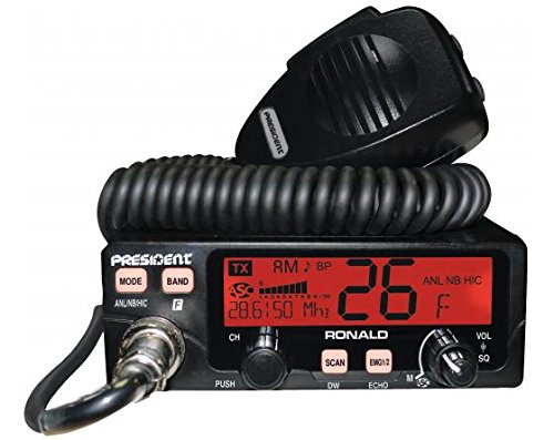 President Ronald 10 Meter Amateur Ham Radio by President Electronic