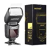 NEEWER 750II TTL FLASH SPEEDLITE CON PANTALLA LCD PARA NIKON D7200 D7000 D7000 D5500 D5300 D5200 D5100 D5000 D3300 D3200 D3100 D3000 D700 D600 D500 D90 D80 D70 D60 D50 y otras cámaras Nikon DSLR